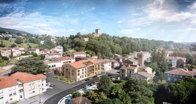 Achat / Vente programme immobilier neuf Albigny-sur-Saône en plein cœur de ville (69250) - Réf. 5354