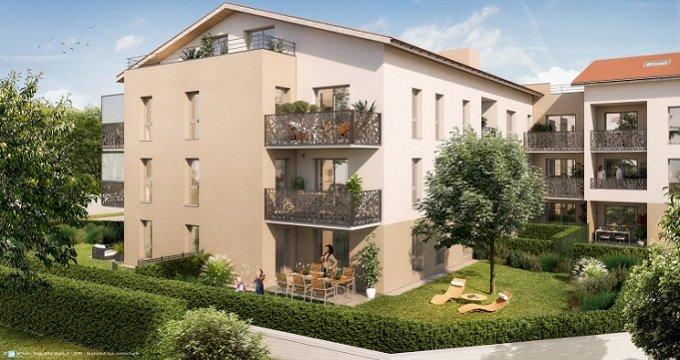 Achat / Vente programme immobilier neuf Brignais cœur de ville (69530) - Réf. 3438