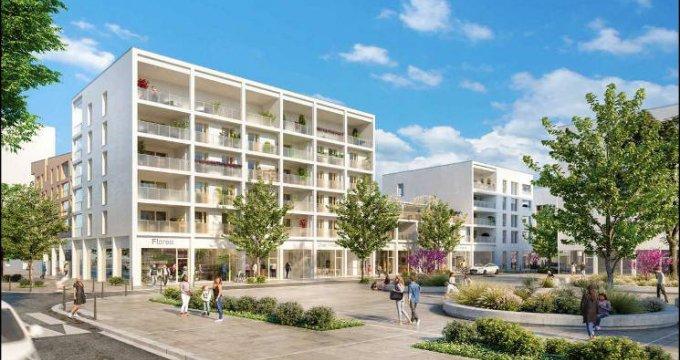 Achat / Vente programme immobilier neuf Bron nouveau quartier Champ des Possibles (69500) - Réf. 4990
