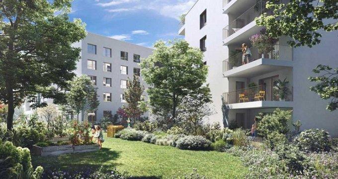 Achat / Vente programme immobilier neuf Bron quartier le Champ des Possibles (69500) - Réf. 4979