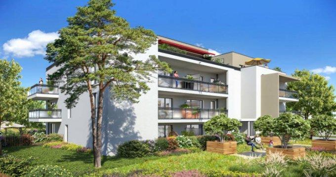 Achat / Vente programme immobilier neuf Caluire-et-Cuire à 15 min du centre-ville lyonnais (69300) - Réf. 4943
