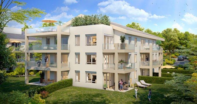 Achat / Vente programme immobilier neuf CHARBONNIÈRES-LES-BAINS à moins de 20 minutes de Lyon (69260) - Réf. 1252