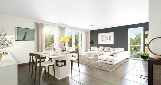 Achat / Vente programme immobilier neuf Décines-Charpieu au coeur de ville (69150) - Réf. 4608