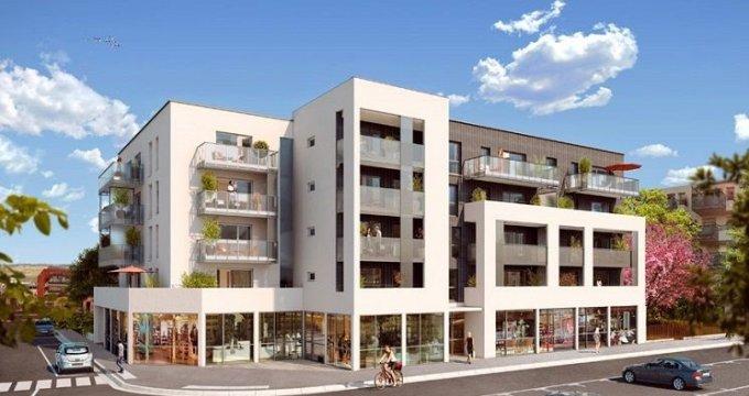 Achat / Vente programme immobilier neuf Décines-Charpieu Place Roger Salengro (69150) - Réf. 1364