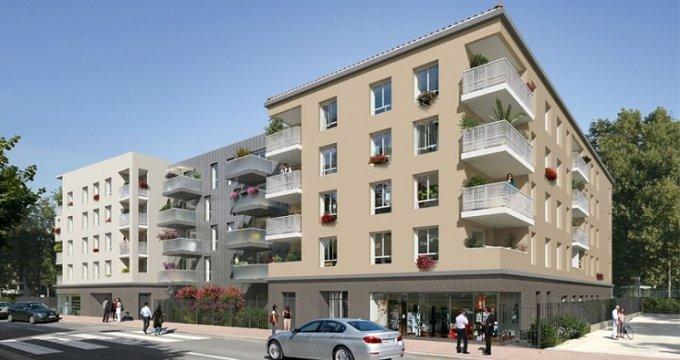 Achat / Vente programme immobilier neuf Décines quartier pavillonnaire Décines-Charpieu (69150) - Réf. 1039