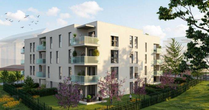 Achat / Vente programme immobilier neuf Gleizé à 15 minutes à pied de la gare (69400) - Réf. 4741