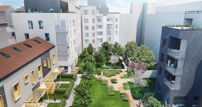Achat / Vente programme immobilier neuf Lyon 6 proche quartier des Brotteaux (69006) - Réf. 3541
