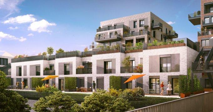 Achat / Vente programme immobilier neuf Lyon 7 quartier Gerland (69007) - Réf. 1253