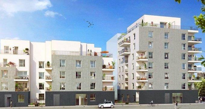 Achat / Vente programme immobilier neuf Lyon 8 proche avenue Berthelot (69008) - Réf. 1805