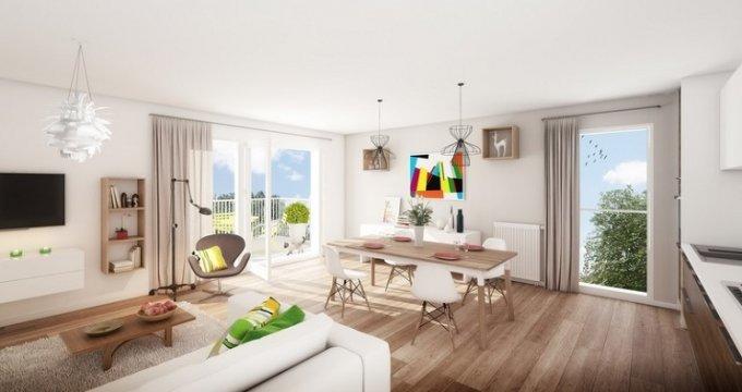 Achat / Vente programme immobilier neuf Lyon 8 proche Mermoz Pinel (69008) - Réf. 4126