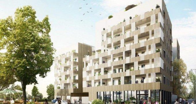 Achat / Vente programme immobilier neuf Lyon 8 secteur Mermoz proche transports (69008) - Réf. 1368