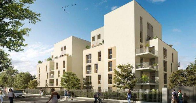 Achat / Vente programme immobilier neuf Lyon quartier Audibert-Moulin à vent (69008) - Réf. 4138