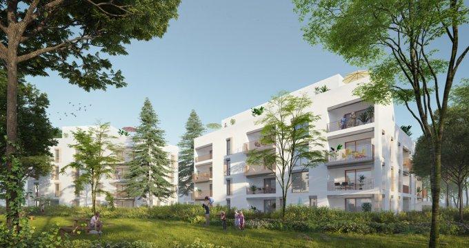 Achat / Vente programme immobilier neuf Lyon quartier Ménival-Battières-La Plaine (69005) - Réf. 1687