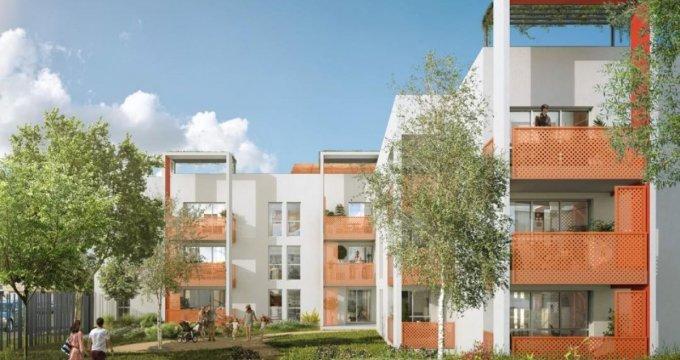 Achat / Vente programme immobilier neuf Meyzieu proche centre-ville (69330) - Réf. 2225