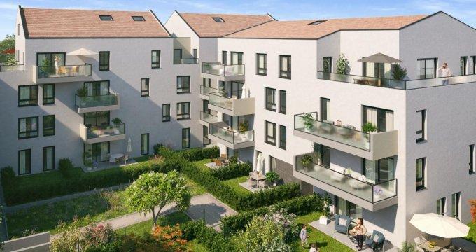 Achat / Vente programme immobilier neuf Neuville-sur-Saône proche de l'hyper centre (69250) - Réf. 2757