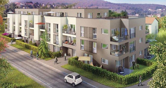 Achat / Vente programme immobilier neuf Pollionnay dans un cadre champêtre (69290) - Réf. 352