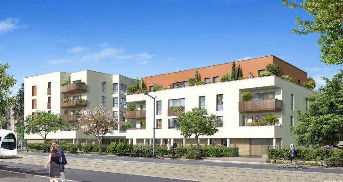 Achat / Vente programme immobilier neuf Saint-Priest à 3 min à pied du tramway T2 (69800) - Réf. 5497