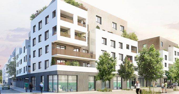 Achat / Vente programme immobilier neuf Saint-Priest proche centre (69800) - Réf. 1795