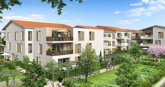 Achat / Vente programme immobilier neuf Saint-Priest quartier de Ménival (69800) - Réf. 1311