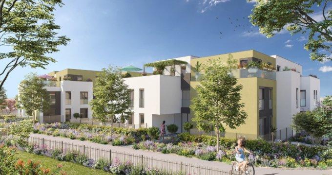 Achat / Vente programme immobilier neuf Sainte-Foy-lès-Lyon au cœur du quartier Saint-Loup (69110) - Réf. 5272