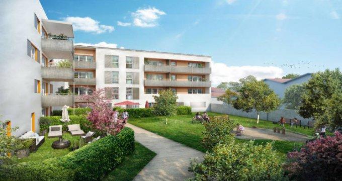 Achat / Vente programme immobilier neuf Vaulx-en-Velin en plein cœur de ville (69120) - Réf. 5199
