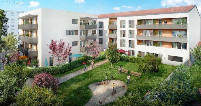 Achat / Vente programme immobilier neuf Vaulx-en-Velin proche place du marché (69120) - Réf. 3411