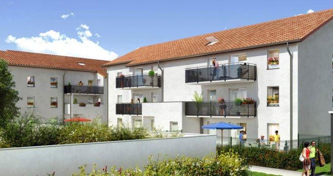 Achat / Vente programme immobilier neuf Vaulx-en-Velin Village proche centre-ville (69120) - Réf. 659