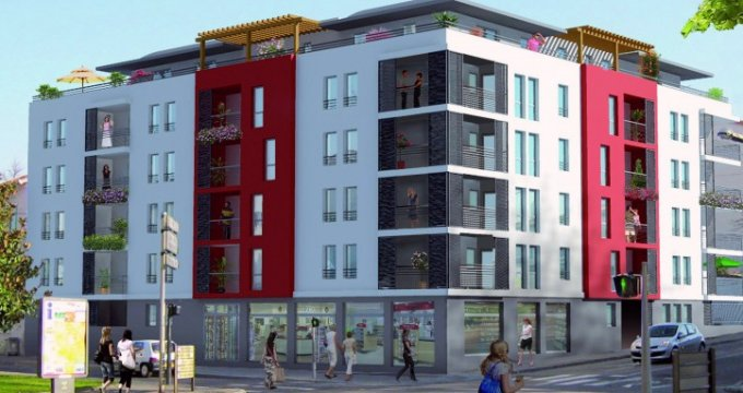 Achat / Vente programme immobilier neuf Vénissieux centre - TVA réduite 7% (69200) - Réf. 4525
