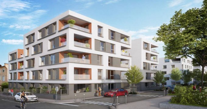 Achat / Vente programme immobilier neuf Vénissieux en plein cœur du centre-ville (69200) - Réf. 4966