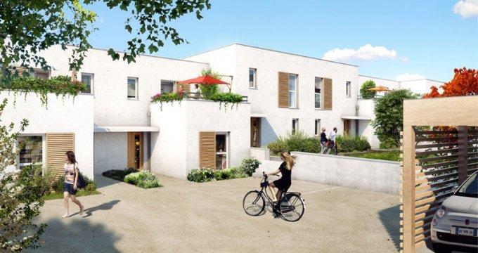 Achat / Vente programme immobilier neuf Vénissieux quartier Monery (69200) - Réf. 1377