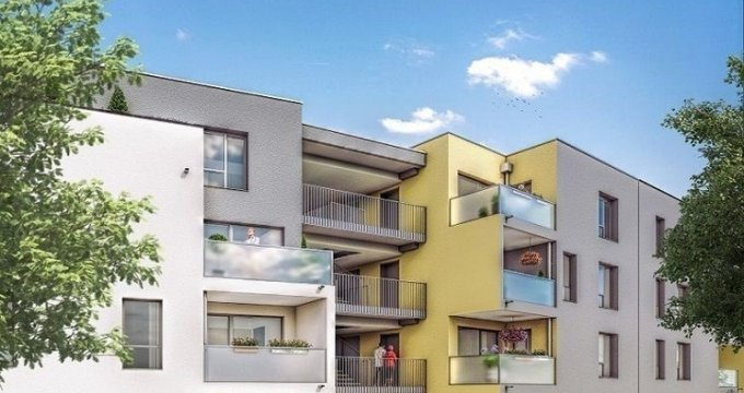 Achat / Vente programme immobilier neuf Vénissieux quartier résidentiel proche Village (69200) - Réf. 1338