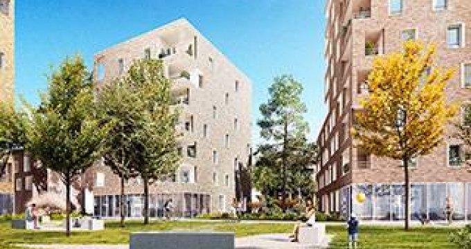 Achat / Vente programme immobilier neuf Villeurbanne à 1 minute du métro (69100) - Réf. 3927