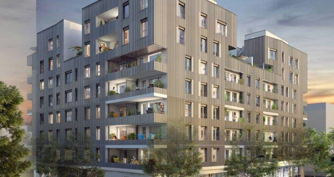 Achat / Vente programme immobilier neuf Villeurbanne au cœur du quartier Carré de Soie (69100) - Réf. 4315