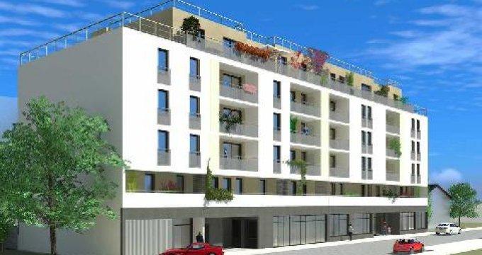 Achat / Vente programme immobilier neuf Villeurbanne proche de Carré de Soie (69100) - Réf. 2587