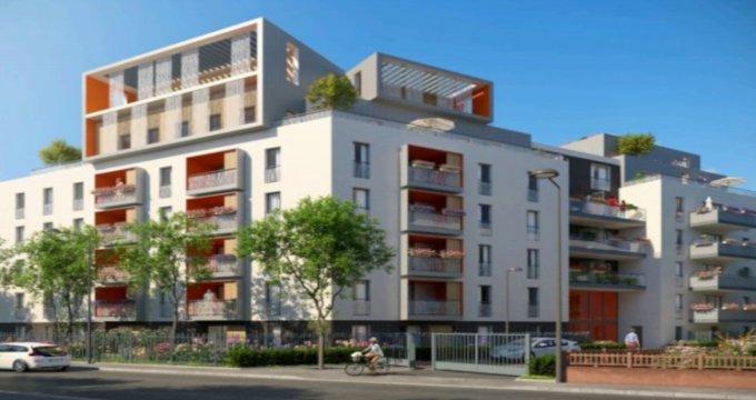 Achat / Vente programme immobilier neuf Villeurbanne proche école Château Gaillard (69100) - Réf. 3659