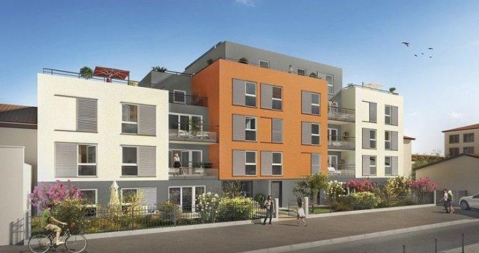 Achat / Vente programme immobilier neuf Villeurbanne proche Ferrandière - Maisons Neuves (69100) - Réf. 612