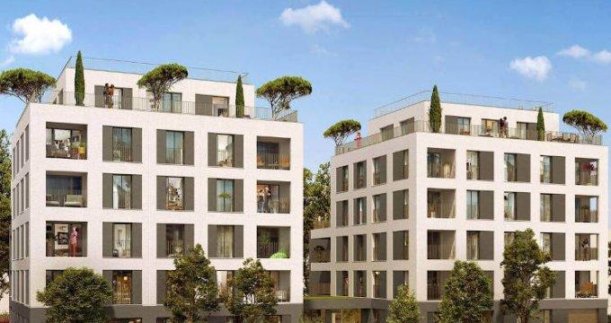 Achat / Vente programme immobilier neuf Villeurbanne quartier Château-Gaillard (69100) - Réf. 4867
