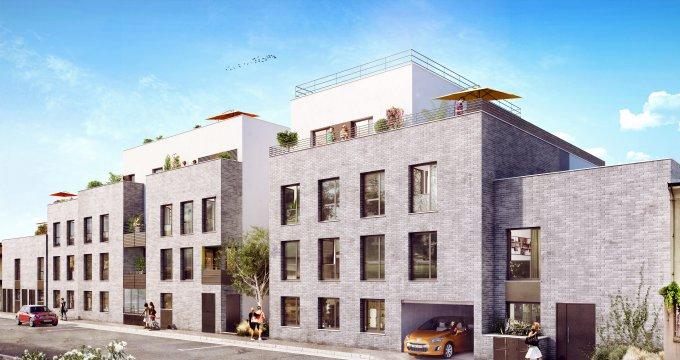 Achat / Vente programme immobilier neuf Villeurbanne quartier République (69100) - Réf. 349