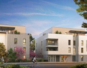 Achat / Vente programme immobilier neuf Chassieu centre-ville proche bus 68 (69680) - Réf. 6014
