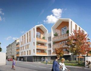 Achat / Vente programme immobilier neuf Décines-Charpieu proche parc Miribel Jonage (69150) - Réf. 821
