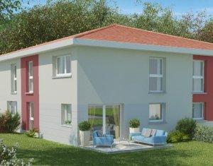 Achat / Vente programme immobilier neuf Echalas, vue panoramique (69700) - Réf. 393