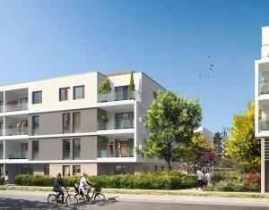 Achat / Vente programme immobilier neuf Meyzieu centre-ville (69330) - Réf. 2067