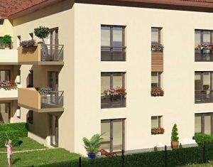 Achat / Vente programme immobilier neuf Meyzieu proche médiathèque (69330) - Réf. 3501