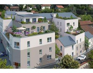 Achat / Vente programme immobilier neuf Rillieux-la-Pape sur la colline de Crépieux (69140) - Réf. 572
