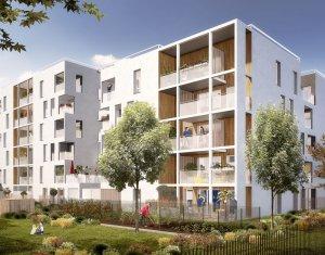Achat / Vente programme immobilier neuf Vaulx-en-Velin quartier Carré de Soie (69120) - Réf. 3437