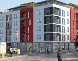 Achat / Vente programme immobilier neuf Vénissieux proche gare (69200) - Réf. 3373