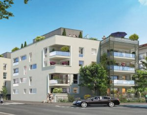 Achat / Vente programme immobilier neuf Vénissieux proche ligne tramway T4 (69200) - Réf. 4937