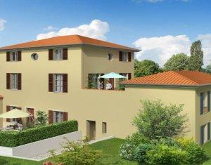 Achat / Vente programme immobilier neuf Vernaison - quartier calme et résidentiel (69390) - Réf. 4334