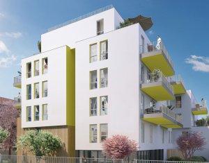 Achat / Vente programme immobilier neuf Villeurbanne proche arrêt Flachet (69100) - Réf. 2236