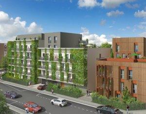 Achat / Vente programme immobilier neuf Villeurbanne proche Gratte-ciel et parc Feyssine (69100) - Réf. 2373